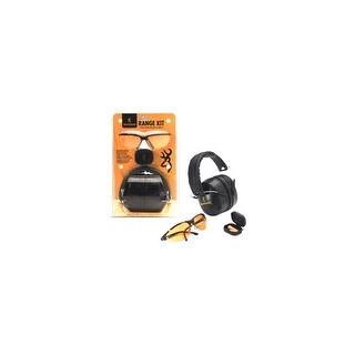 Browning 126368 bg range kit eye & hearing protection black