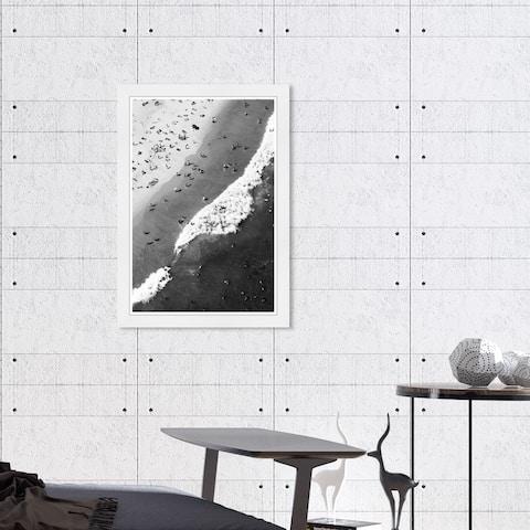 Hatcher & Ethan 'Up Top II' Wall Art Framed Print - Black, White