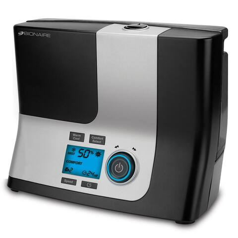 Bionaire BUL9100-UM Ultrasonic Humidifier with Warm & Cool Options - Black