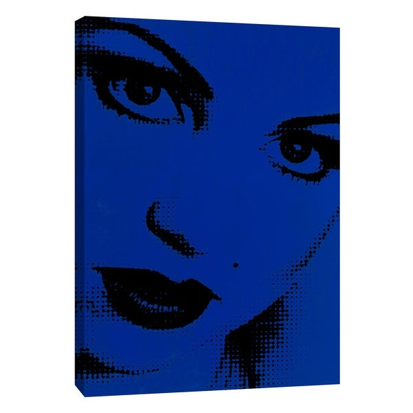 """PTM Images 9-105338 PTM Canvas Collection 10"""" x 8"""" - """"Girl B3"""" Giclee Women Art Print on Canvas"""