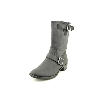 Hush Puppies Lola Chamber Round Toe Leather Boot
