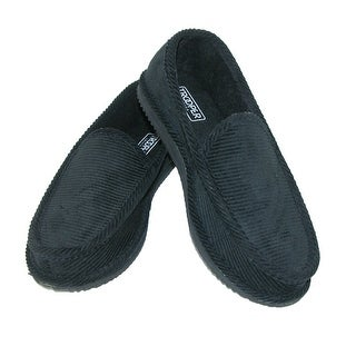 Trooper America Men's Corduroy Slip On Slippers