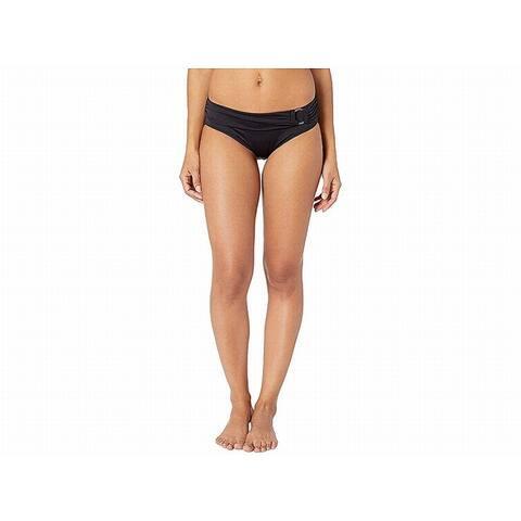 Michael Michael Kors Womens Swimwear Black Size Large L Bikini Bottom