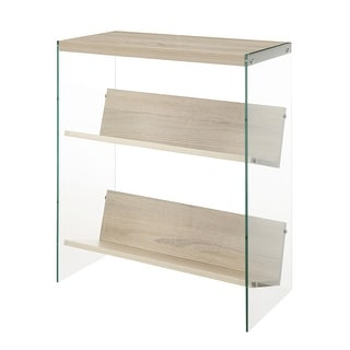 Link to Porch & Den Urqhuart Glass/ Wood Bookcase Similar Items in Living Room Furniture