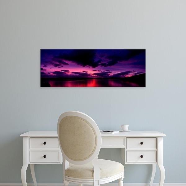 Easy Art Prints Panoramic Image 'Island, Applecross Peninsula, Isle of Skye, Inner Hebrides, Scotland' Canvas Art