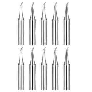Soldering Iron Tips Replacement for Solder Station Tip 900M-T-IS Silver  10pcs - 900M-T-IS 10pcs