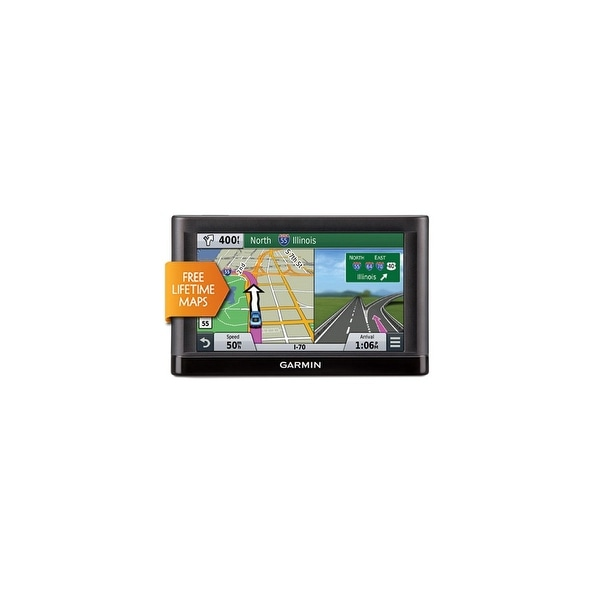 Garmin Nuvi 65LM GPS Vehicle Navigation System w/ Free Lifetime Map Updates