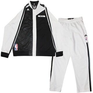 Joe Johnson Warmup Set Brooklyn Nets 20132014 Season Game Used 7 Black and White Light Warmup Jack