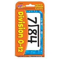 Pocket Flash Cards Division 56-Pk