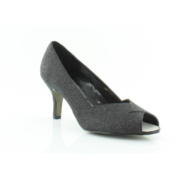Easy Street RAVISH Women's Heels Black Glitter