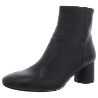 Vince Womens Tillie Ankle Boots Solid Round Toe