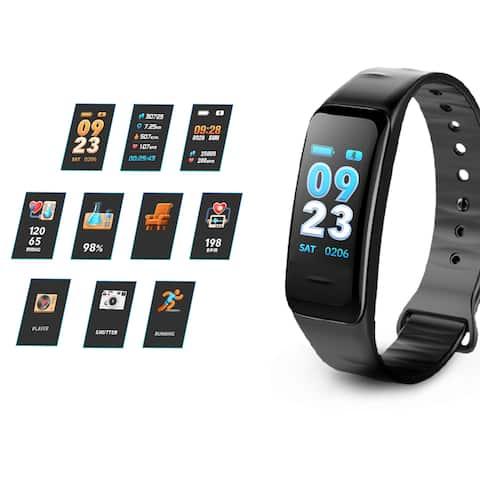 AGPtek Fitness Bands, Waterproof Pedometer Watch with Sleep Tracker for Kids Women Men