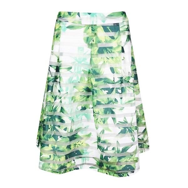 INC International Concepts Women's Illusion A-Line Skirt