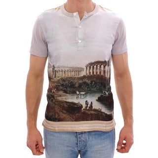 Dolce & Gabbana Dolce & Gabbana Multicolor TAORMINA Print t-shirt - it44-xs