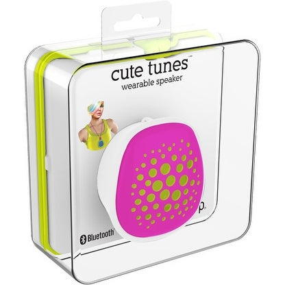 Shop Ihip Cute Wearable Bluetooth Speaker Pink Free Shipping On
