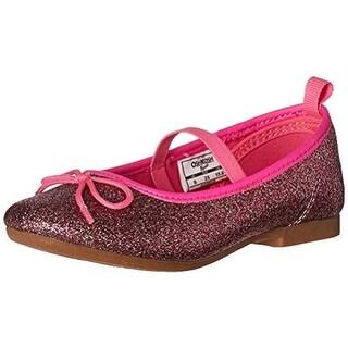 Osh Kosh Girls Audrey Ballet Flats Glitter
