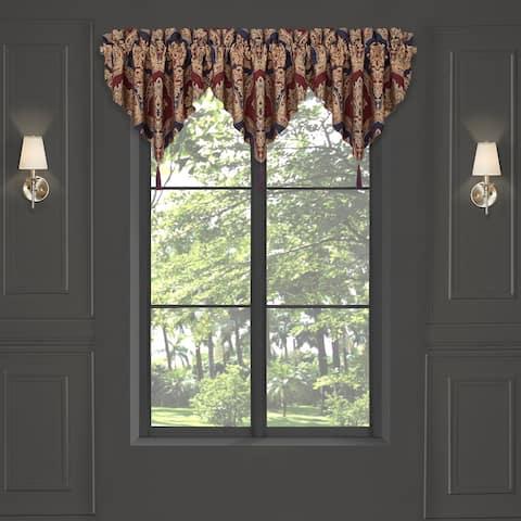 Five Queens Court Middleton Window Ascot Valance