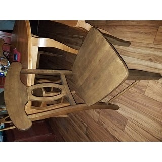 Barnet Walnut Napoleon Casual Dining Chair (Set of 2) by iNSPIRE Q Classic