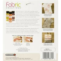"Fabric Creations Adhesive Stencil 6""X6""-Boho Flower"