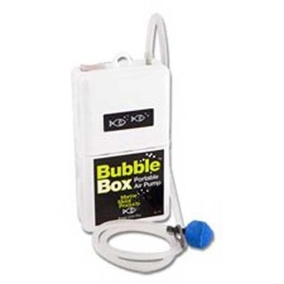 Marine Metal Bubble Box 1.5v Air Pump