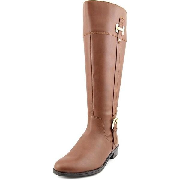 Karen Scott Deliee Wide Calf Round Toe Synthetic Knee High Boot