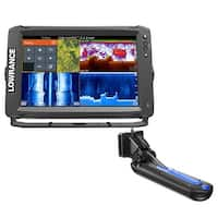 Lowrance 000-13718-001 Elite-12 Ti with TotalScan Transom Mount Transducer