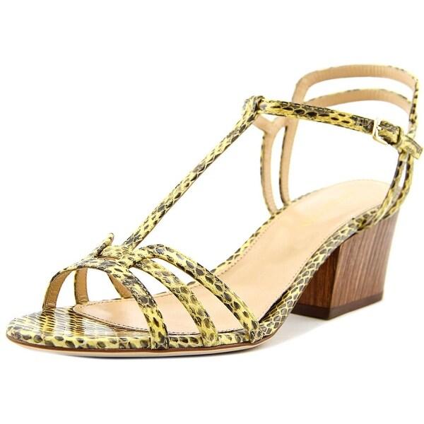 Sergio Rossi Elaphe Roxy Women Sunshine Sandals