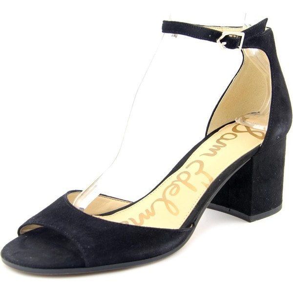 f064bbaf20a Shop Sam Edelman Susie Black Sandals - Free Shipping Today ...