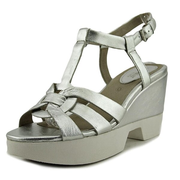 Bussola Paine Women Open-Toe Leather Slingback Sandal