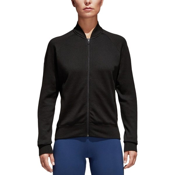 22823b71b Shop Adidas Womens Bomber Jacket Athletic Lightweight - Free ...
