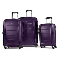 Samsonite Winfield II Fashion HS Spinner 3 Piece Set, Purple