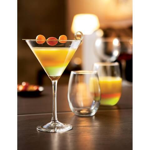 Luminarc 10 Ounce Cachet Martini Glasses, Set of 4 - 10 ounces