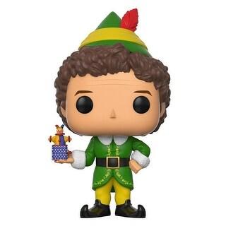"FunKo POP! Movies Elf Buddy Elf 3.75"" CHASE VARIANT Vinyl Figure - multi"