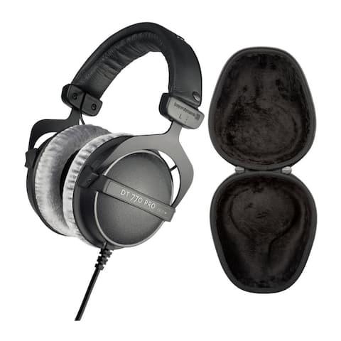 Beyerdynamic DT 770 PRO Over-Ear Studio Headphones Bundle with Case