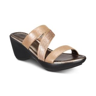 Link to Karen Scott Womens Paulah Open Toe Casual Platform Sandals Similar Items in Women's Shoes