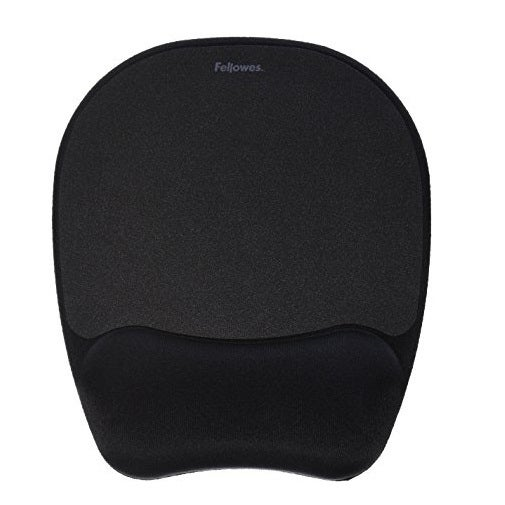 Fellowes 9176501 Memory Foam Mouse Pad With Wrist Rest