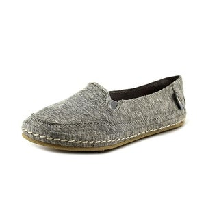 Rocket Dog Wheelie Youth Round Toe Canvas Gray Loafer