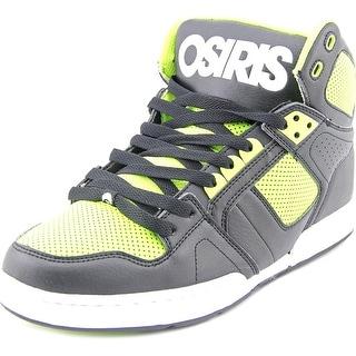 Osiris NYC 83 Men Round Toe Synthetic Black Skate Shoe
