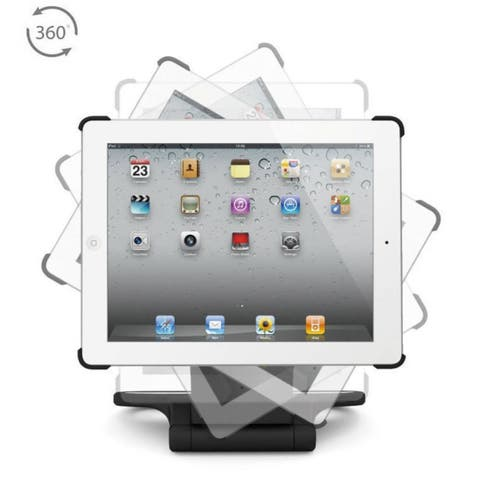 iPad Stand 360 a perfect view at any angle.