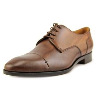 Mercanti Fiorentini Fiesole Men Cap Toe Leather Oxford