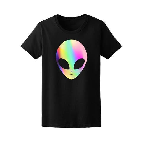 Multicolored Trendy Alien Space Tee Women's -Image by Shutterstock