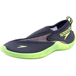 Speedo Kids Surf Walker Pro 2.0 Youth Round Toe Synthetic Black Water Shoe