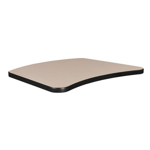 "26"" x 20"" Standard Brody Table Top- Beige/Grey"