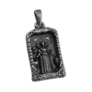 Sterling Silver Celtic Brighid Triple Goddess Pendant
