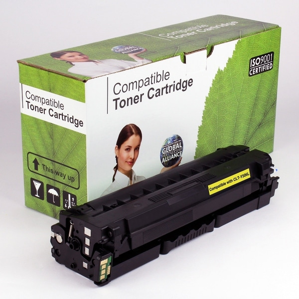 Value Brand replacement for Samsung CLT-Y506L, CLP-680ND Yellow Toner (3,500 Yield)