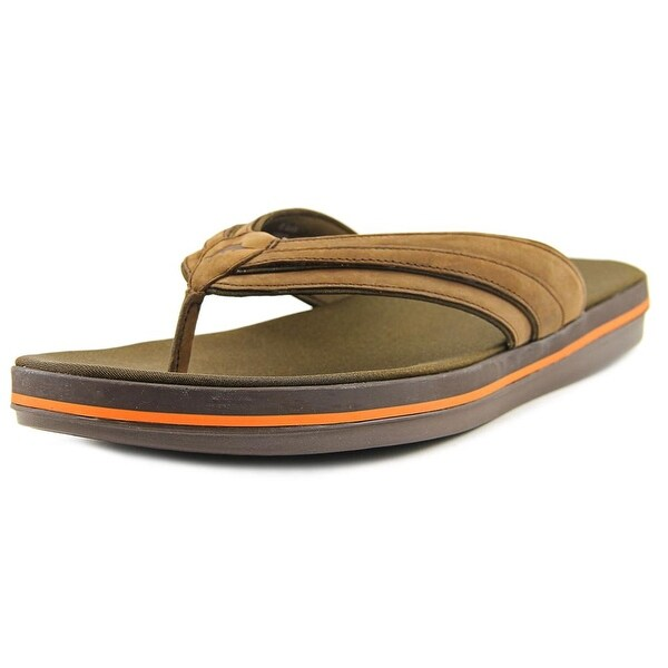 31622cac7 Shop Tommy Bahama Jacob St. Open Toe Leather Flip Flop Sandal - Free ...