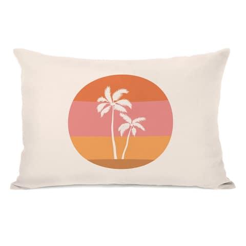 Vintage Palms - Lumbar Pillow