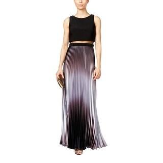 Aqua Womens Evening Dress Sleeveless Ombre