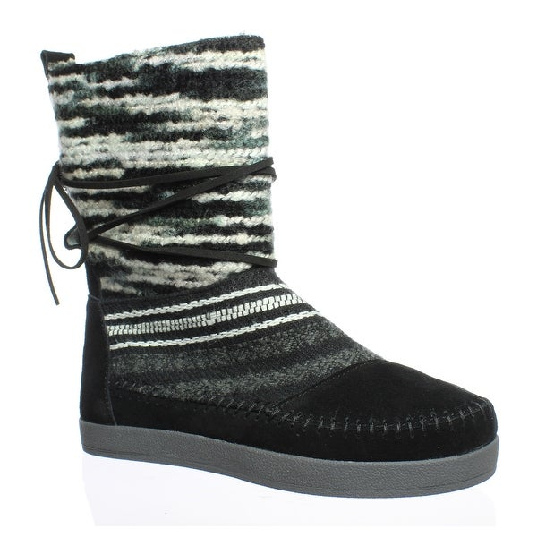 c8252eb5a66 Shop TOMS Womens Nepal Black Ankle Boots Size 5 - Free Shipping On ...