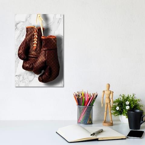 """iCanvas """"LV Boxing"""" by Alexandre Venancio Canvas Print"""